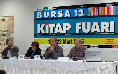 Freedom to Publish Panel in Bursa Book Fair