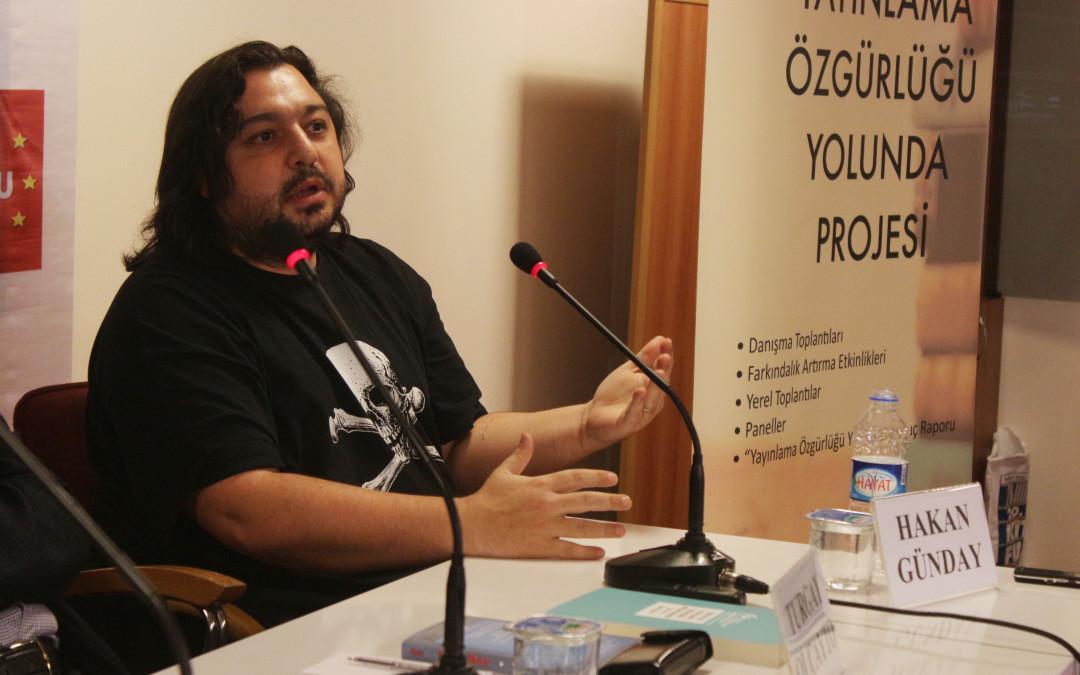 İzmir Kitap Fuarı'nda Panel