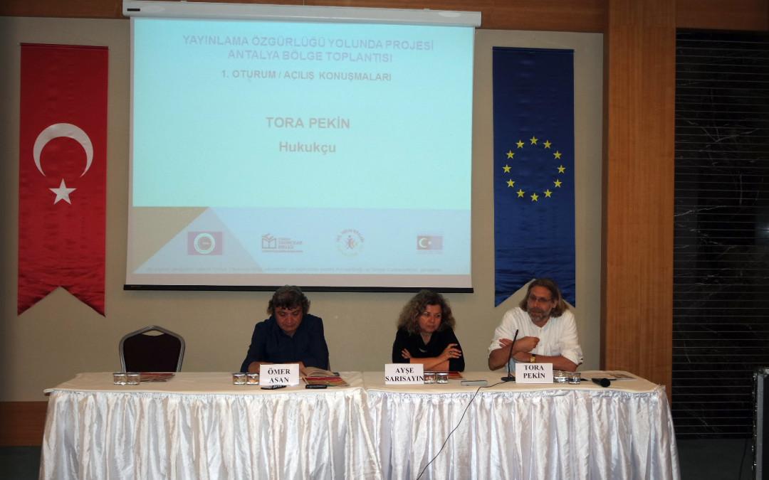 Antalya  Bölge Toplantısı Yapıldı